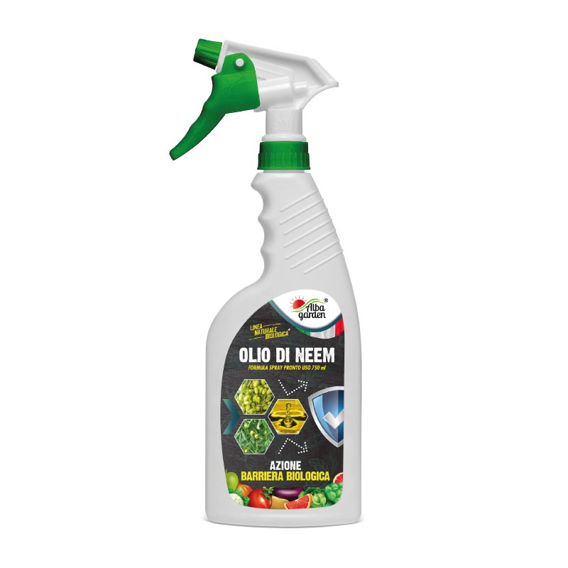 Olio di neem spray x 750 ml-Linea Naturale Bio-Albagarden.it